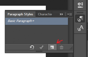 Photoshop - paragraph style