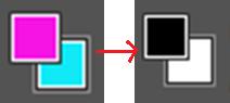 photoshop - colour square