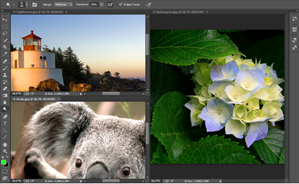 photoshop - files as tiles 2