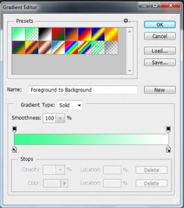 photoshop - gradient tool4