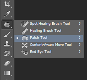 adobe photoshop patch tool