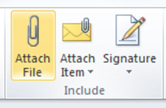 Attachments Outlook Training1