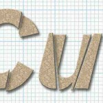 How to Make Cut up Text in Photoshop