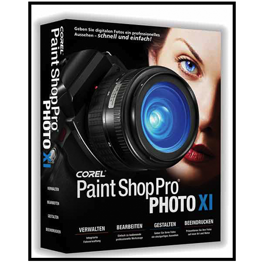 Paint Shop Pro and CorelDraw