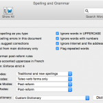 Document Proofing – Checking Spelling, grammar and counting words