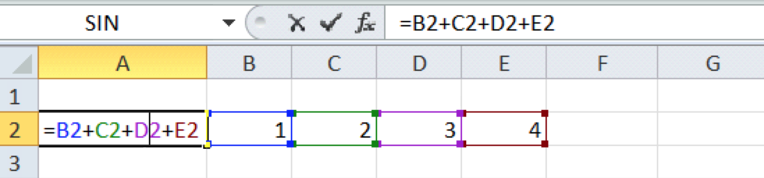 Excel For SEO - Appendix 1 - 13 - Coloured Cell Edges