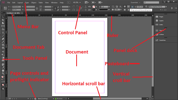 Understanding The Indesign Workspace Acuity Training