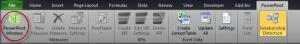 Ch 1 - 3 - Excel PowerPivot Main Window
