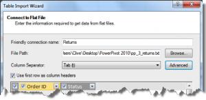 Ch 2 - 17 - Excel PowerPivot Table Import Wizard 4