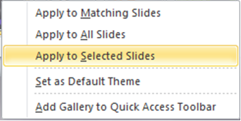 How to add a Theme to your PowerPoint Presentation