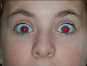 photoshop - red eye