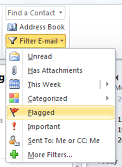 Filter Emails Outlook Training