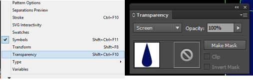 How to make the object transparent when the colour is black