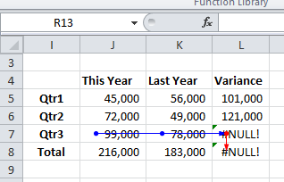 Tracing errors v2