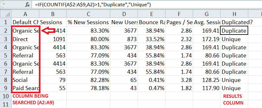 Excel For SEO - Ch 1 - 20 IF Statement
