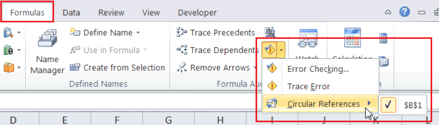 Excel For SEO - Appendix 1 - 3 - Circular Reference Audit