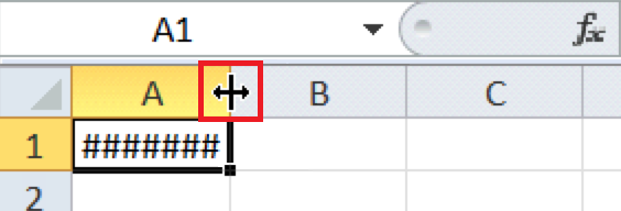 Excel For SEO - Appendix 1 - 5 cursor over right margin