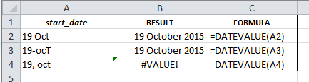 Excel For SEO - Ch 3 - 9 DATEVALUE