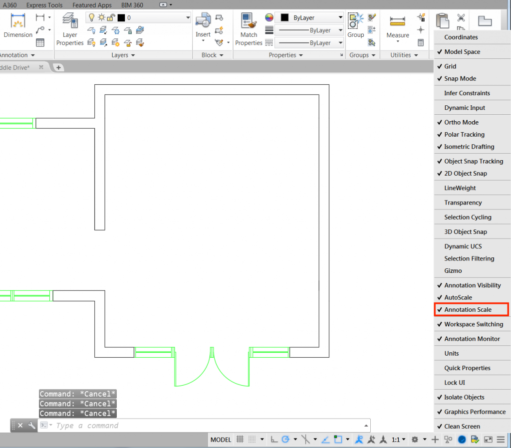 Autocad for architects acuity training autocad training article ch 4 screenshot 19 buycottarizona