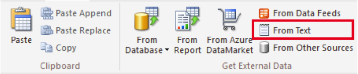 Ch 2 - 16 - Excel PowerPivot Import From Text