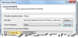 Ch 2 - 17 - Excel PowerPivot Table Import Wizard 4