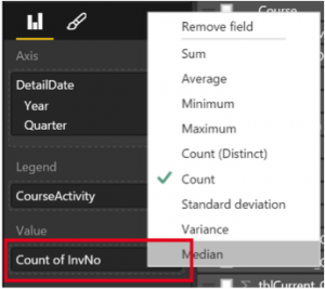 Ch 6 - 7 - Excel PowerBI PivotTable Field Function Customisation