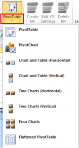 Ch 7 - 1 - Excel PowerPivot PivotCharts Selection Button