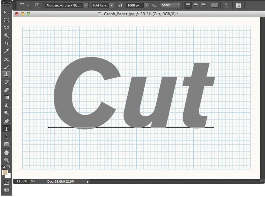 Adobe Photoshop: How to Make Cut up Text - Acuity Training