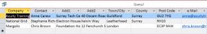 SQL Union Queries - 4 - Editing Query Criteria Dialogue Box In Access