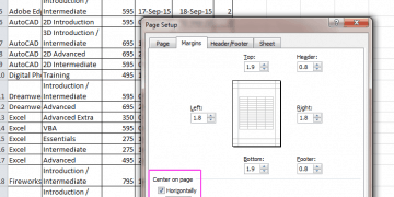 Microsoft Excel: A Guide To Controlling Your Page Layout