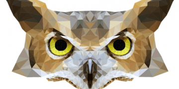 Adobe Illustrator: Create a geometric low poly image