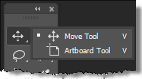 Selecting The Move Tool