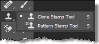 The Stamp Tools Menu