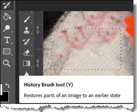 The History Brush Tool In Photoshop
