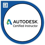 AutoCAD Certified Instructor Logo